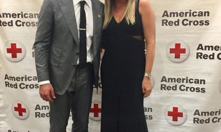 Aaron Rodgers Leaves Danica at Home for Red Cross Event