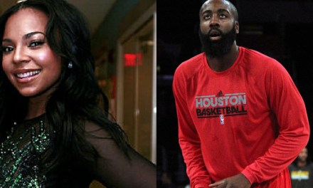 Ashanti Attended Rockets Game as Rumors of Reconnection with James Harden Heat Up