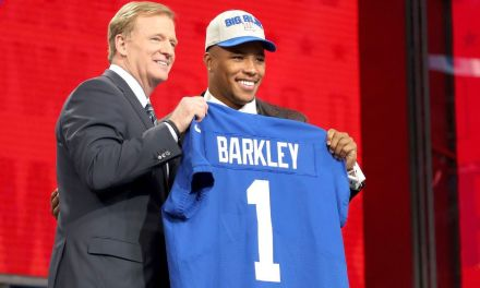 Saquon Barkley's  Jersey Highest Selling Ever by a Rookie on Draft Night