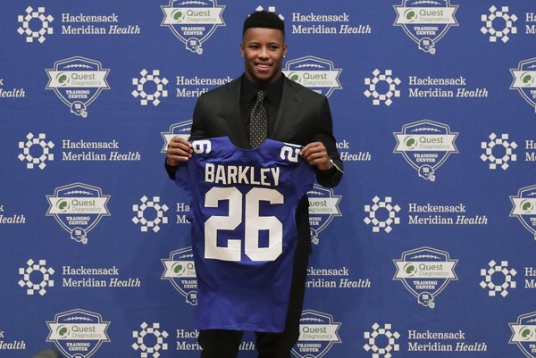 low priced 662da f669c Saquon Barkley's Jersey Highest Selling Ever by a Rookie on ...