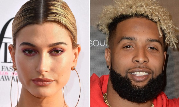 Odell Beckham Jr. and Hailey Baldwin Playing the Follow Game