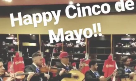 Nationals Manager Brought in a Mariachi Band to Celebrate Cinco de Mayo