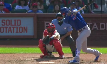 Yadier Molina Leaves Game After Taking a Foul Tip to the Junk on a 102 MPH Pitch