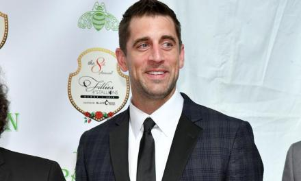 Aaron Rodgers Used a Stylist for the Third Year in a Row at the Kentucky Derby