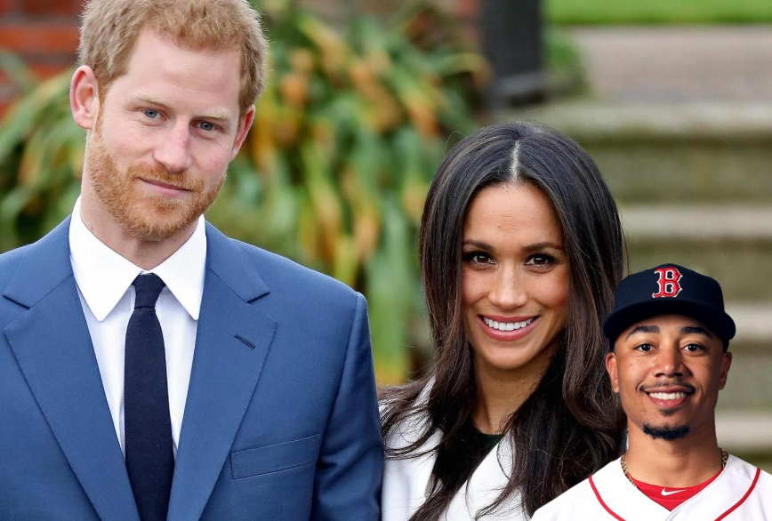 Red Sox Star Mookie Betts is Cousins with Soon to be Duchess Megan Markle