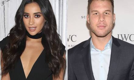 Actress Shay Mitchell Denies She's Dating Blake Griffin