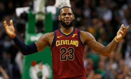 LeBron James Committed Lane Violations on all 6 of his Free Throws