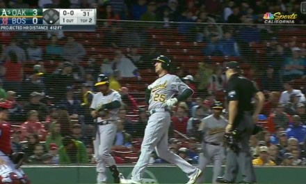 Stephen Piscotty Homered in Return to Action After Mother's Death