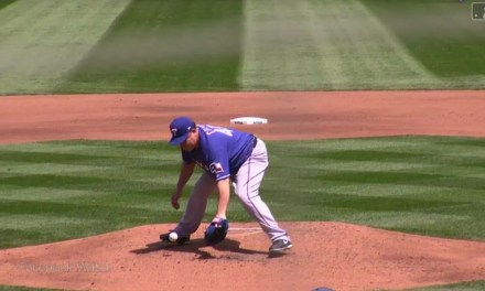 Bartolo Colon Gets Drilled With a Line Drive, Gets the Out and Stays in the Game