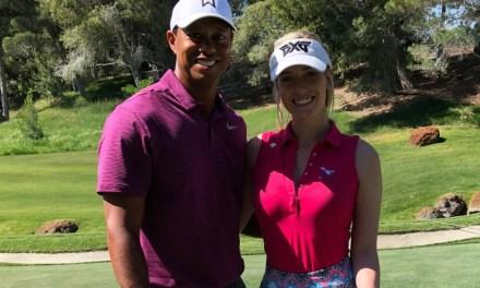 Paige Spiranac Met Tiger Woods