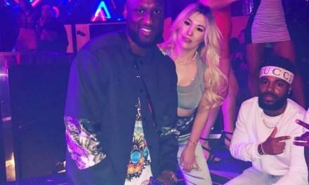 Lamar Odom Bottled Up in Vegas Nightclub
