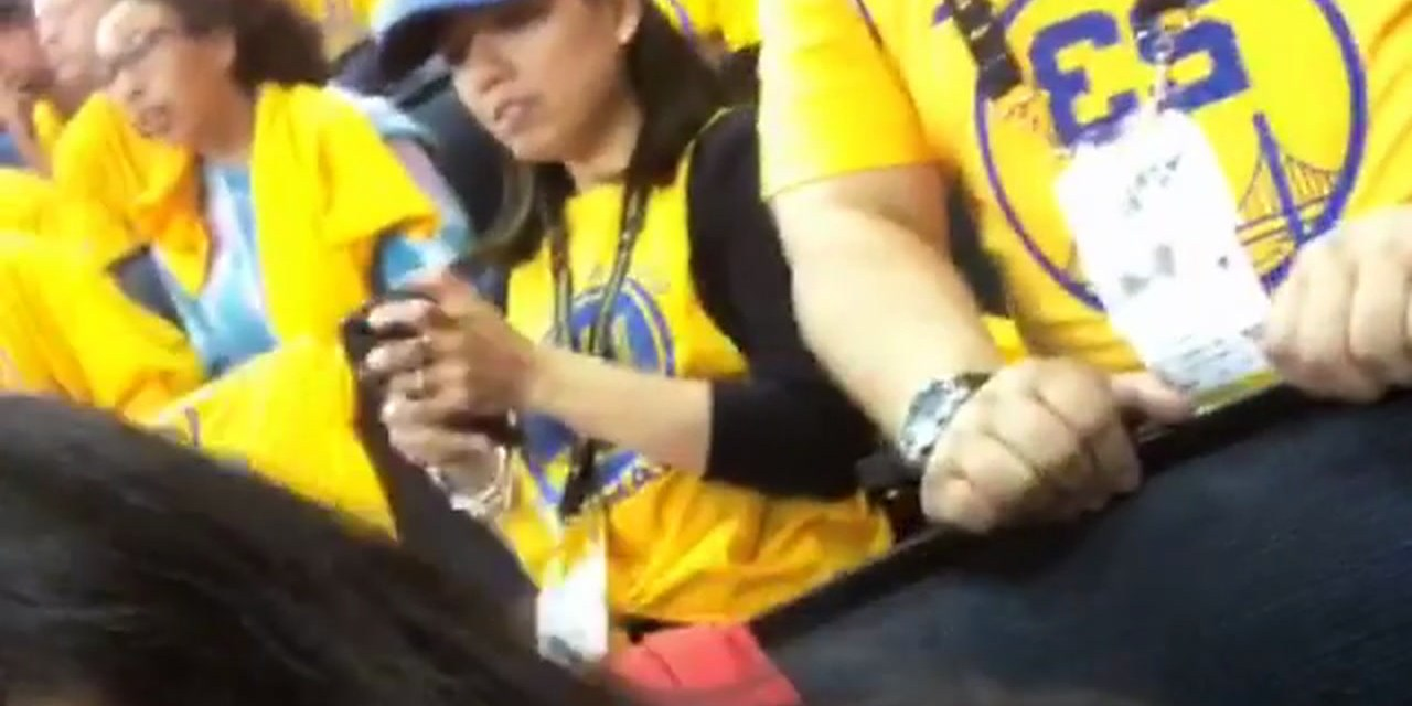 Harden's Girl at Game 3