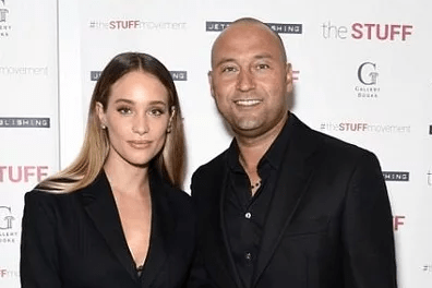 Derek and Hannah Jeter Spotted in New York with their Daughter Bella Raine