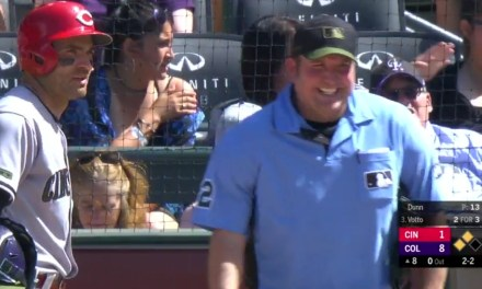 Umpire Catches 91 MPH Fastball With His Bicep