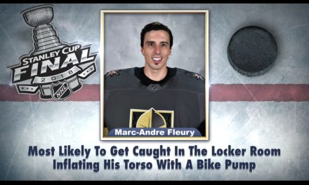 Jimmy Fallon Dropped his Latest Edition of Superlatives Before Game 1 of the Stanley Cup Finals