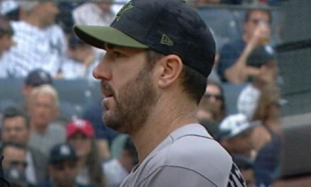 Justin Verlander Trolled Yankees Fans Upon Exiting in the Seventh