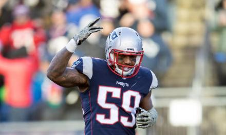 Linebacker Marquis Flowers Having a Blast Playing for the Patriots