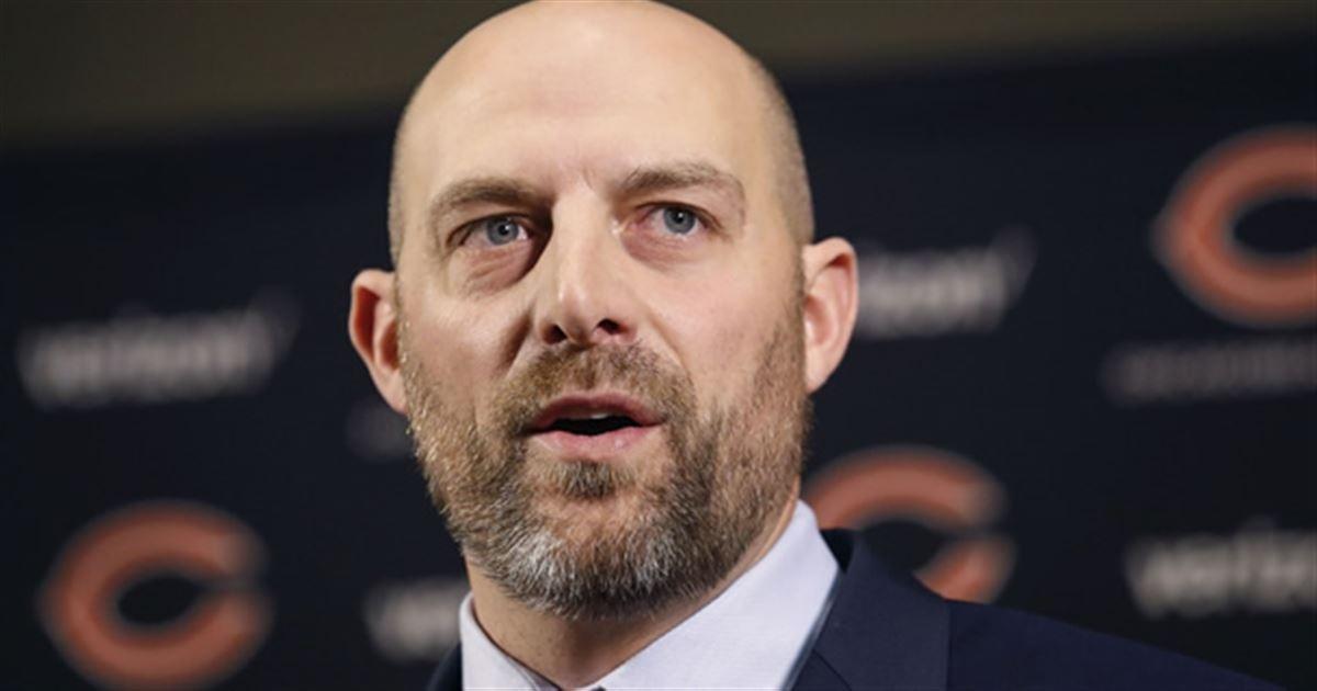 Chicago Bears Head Coach Matt Nagy attends Funeral for Chicago Firefighter