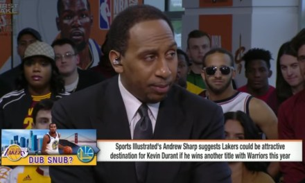 Stephen A. Smith Makes Absurd Claim About LeBron James