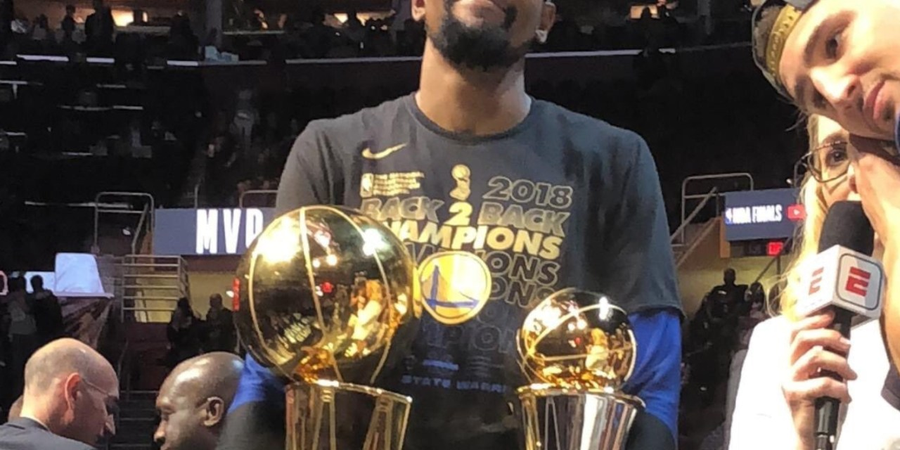 Kevin Durant Wins Back to Back Finals MVP Awards to go With his Back to Back Championships
