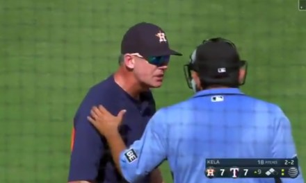 Astros Manager Gets the Umpires to Call a Balk Well After the Fact