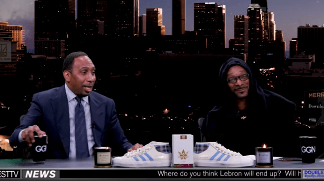 Stephen A. Smith Is an Ass Man on Snoop Dogg's Show