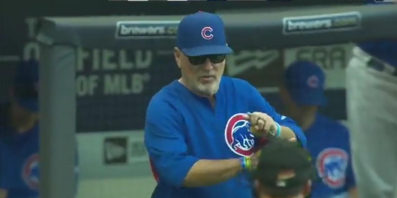 Joe Maddon Used Four Different Left Fielders in One Inning