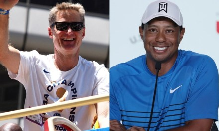 Tiger Woods Texted Steve Kerr to Congratulate Him