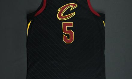 """J.R. Smith's """"Oops"""" Game 1 Finals Jersey Up For Auction"""