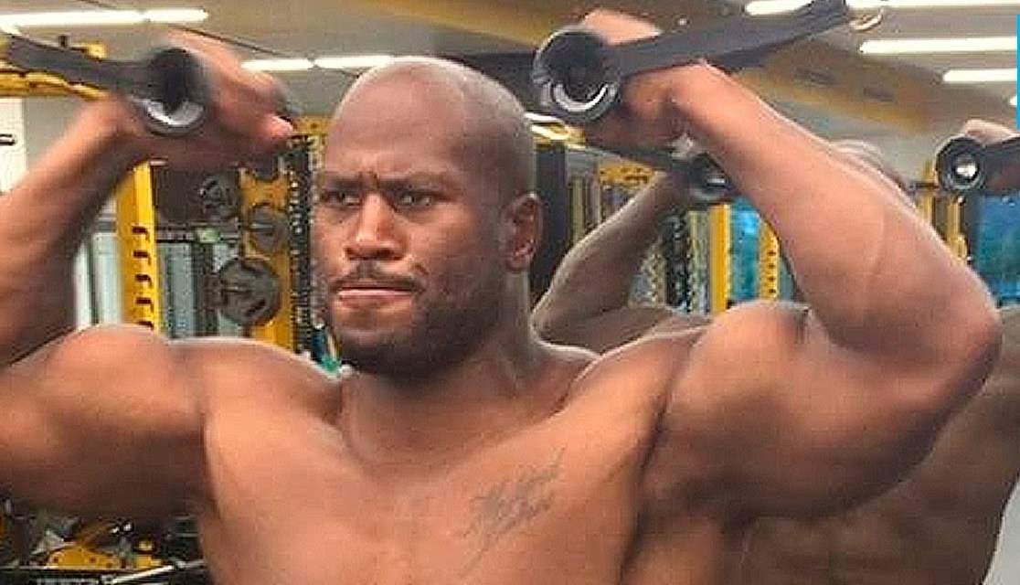 James Harrison Performs Another Crazy Workout
