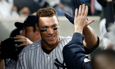 This Video of Aaron Judge Playing Catch with a Kid During a Game is Awesome