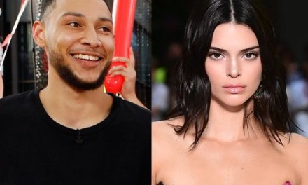 Kendall Jenner Gives Ben Simmons a Welcome Back Kiss