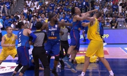 Basketball Fight Erupts Between Australia And The Philippines