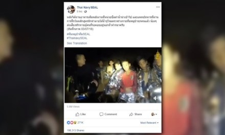 Thai Soccer Team Sends Message from Cave