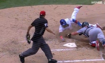 Javy Baez Stole Home With a Brilliant Slide on a Pick Off Attempt at First Base