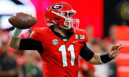 Georgia Quarterback Jake Fromm Broke His Left Hand in a Freak Accident