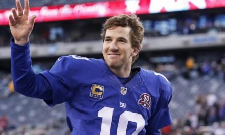 Saquon Barkley Has Turned Eli Manning into a Leg Man