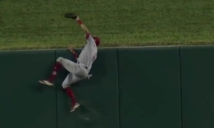 Billy Hamilton Robbed Matt Carpenter of a Home Run