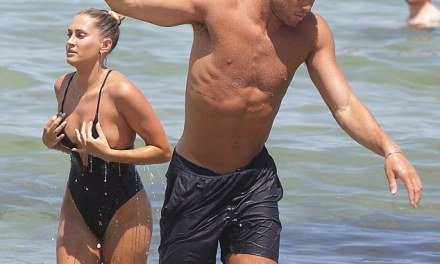 Blake Griffin and Girlfriend Francesca Aiello Hit Miami Beach
