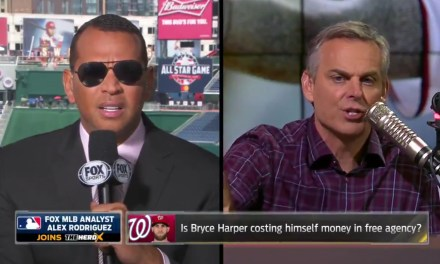 A-Rod Says Bryce Harper is Hurting His Reputation by Not Running Out Groundballs