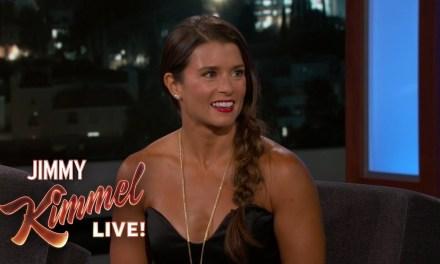 Danica Talks Aaron Rodgers on Jimmy Kimmel