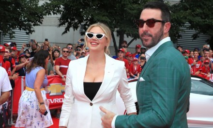 Kate Upton and Justin Verlander Pose for Red Carpet Pics at All-Star Game