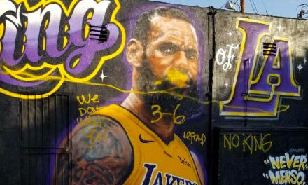Another LeBron Lakers Mural in L.A. Pops Up