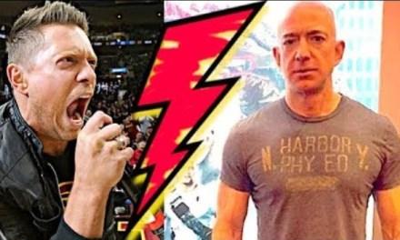 Amazon CEO Jeff Bezos To Throw Down With WWE Wrestler The Miz?