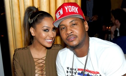 Carmelo's Wife Lala Anthony Spotted on a Date with Drake?