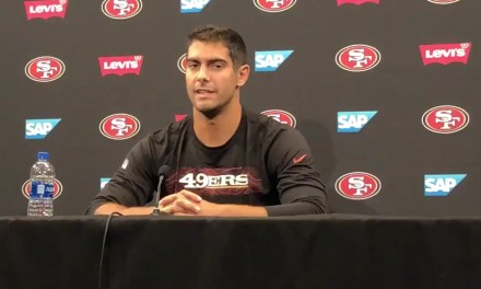 Reporters Asked Jimmy Garoppolo About His Date with a Porn Star