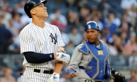 Aaron Judge Hit in the Wrist with a 93 MPH Fastball, Will Be Out at Least 3 Weeks