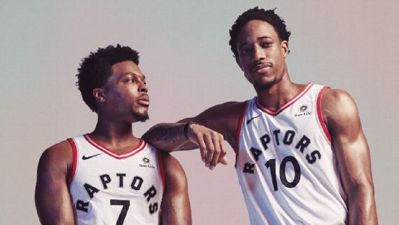 Kyrie Lowry Stays Mum on Trade of Friend DeMar DeRozan
