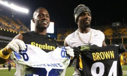 Antonio Brown Wants Dez Bryant to Sign with the Steelers