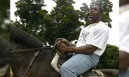 Amazing Video of Ray Lewis Rapping on a Horse